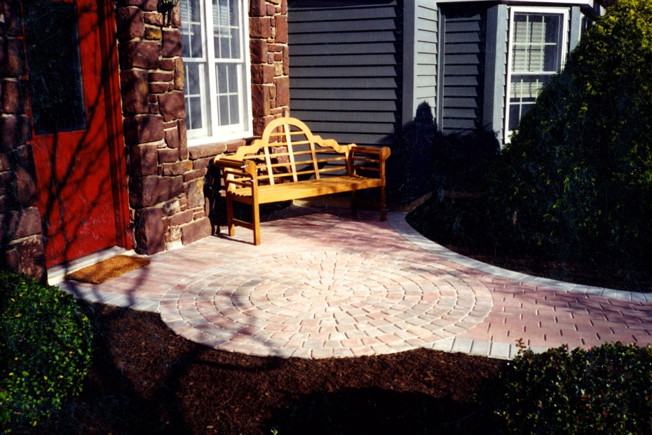 old new pink patio